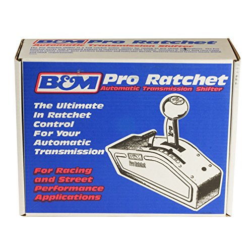 B&M 80842 Pro Ratchet Automatic Shifter for 3 and 4 Speed Transmission by B&M