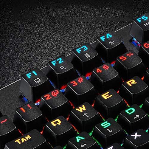 Backlit Notebook Desktop Computer Wired Keyboard//E-Sports Game Internet Cafe 104 Key Keyboard Keyboard Xiao Jian Mechanical Gaming Keyboard