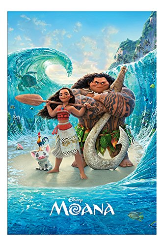 moana magical sea disney poster