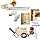 RS Berkeley tbf704 Elite Series Bb Tenor Trombone with F Attachment and case & Bonus RSB MEGA PACK w/Essential Elements Book