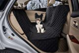 Cheap ZQ Waterproof Diamond Quilted Soft Hammock Seat Cover with Zipper Micro Fiber Bench Seat Cover for Dogs (Black)
