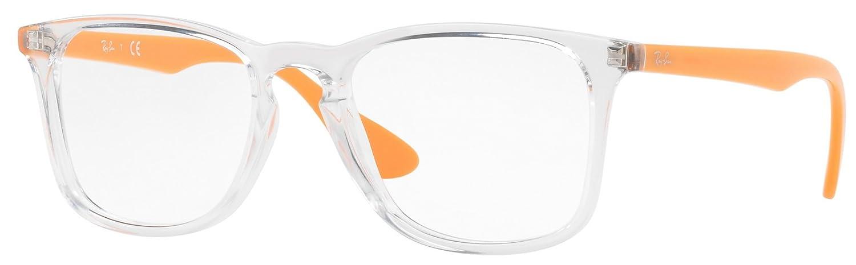 Ray-Ban RX7074 Square Unisex Prescription Eyeglasses 5736 - 52mm