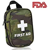 Roobuck First Aid Kit - for Car,Travel, Sports, Camping, Home,Hiking or Office | Complete Emergency Bag Fully stocked with Medical Supplies