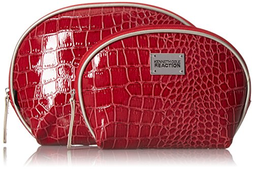 Kenneth Cole Reaction 2 Piece Travel Cosmetic Bag Set