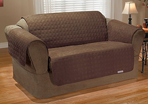 QuickCover Waterproof Love Seat Protector, Bark by QuickCover