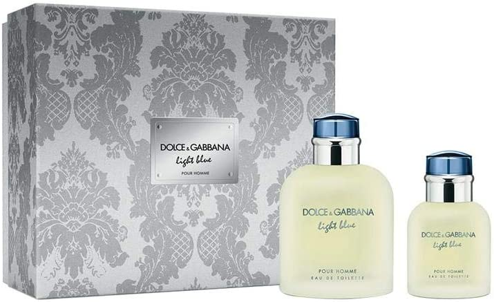 Dolce & Gabbana, Set de fragancias para hombres - 2 Piezas: Amazon.es: Belleza