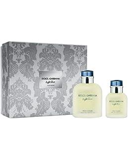 DOLCE & GABBANA LIGHT BLUE POUR HOMME ESTUCHE EDT 125 ML+SHOWER GEL 50ML+AFTER SHAVE BALM 75: Dolce&Gabbana: Amazon.es: Belleza