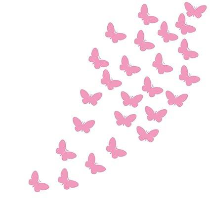 Nice YOYOYU ART HOME DECOR Set Of 48 Pieces Beautiful Butterflies Wall Sticker  For Girls Bedroom Children