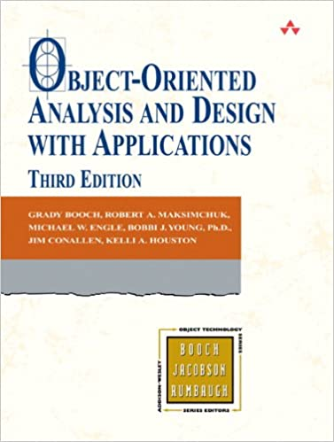 Object-Oriented Analysis and Design with Applications (3rd