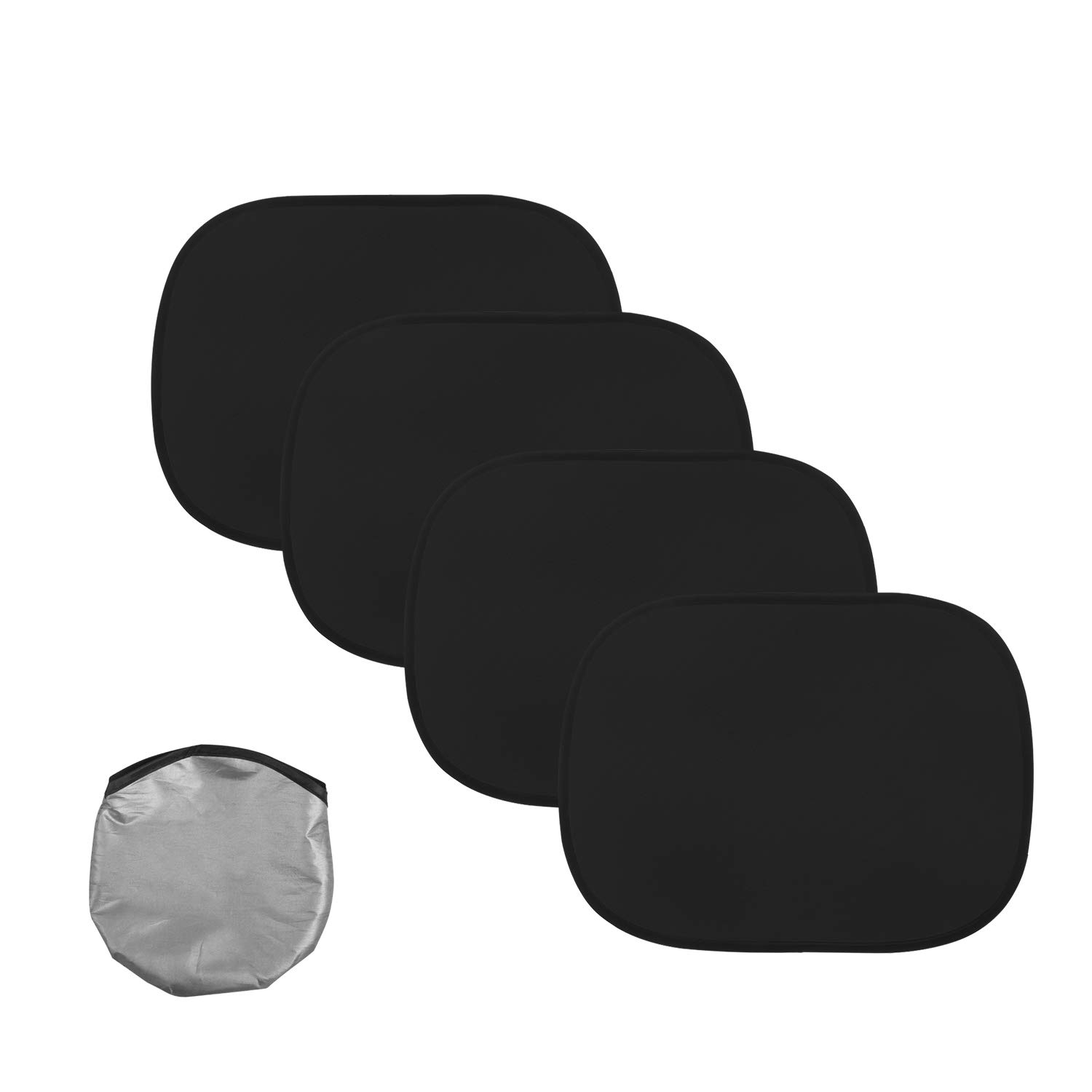 Car Sun Shade 17x15,Car Window Shades 2Pack Car Side Window Sun Shade for Baby,Side Window Sunshades Protect for Kids Pets,Baby Sunshade for Car,80 GSM with 15s Film,Auto Sun Shades Blocking Sun