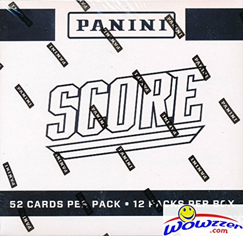 2016 Score NFL Factory Sealed JUMBO FAT 12 Pack Box with 624 Cards! Includes 72 Rookie Cards & 36 EXCLUSIVE Inserts! Look for RC's & Autographs of Carson Wentz, Dak Prescott & All the Top NFL Picks
