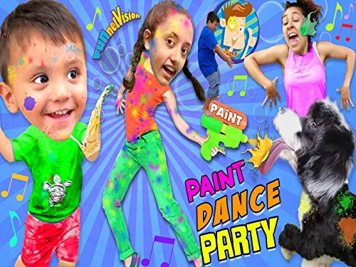 Paint Dance Party! FUNnel Vision Dancing 2R Music Video Songs]()