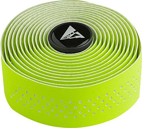 Profile Design Perforated Road Bicycle Handlebar Tape (Hi-Vis Green/White)