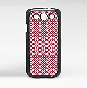Red Print Hard Snap on Phone Case (Galaxy s3 III)