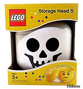 Amazoncom Lego Stackable Storage Head Small Skeleton Toys Games