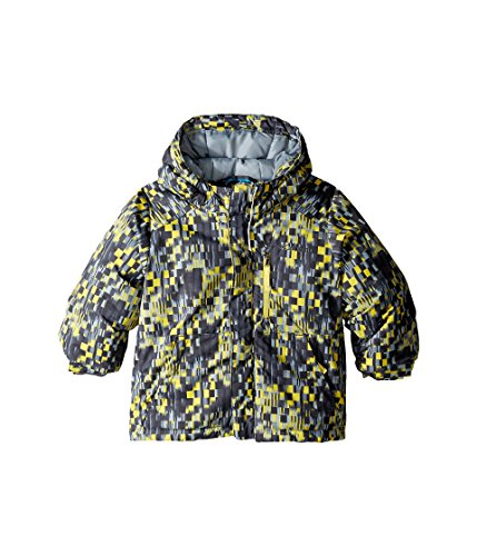 Columbia Kids Baby Boy's Lightning Lift? Jacket (Toddler) Mineral Yellow Geo Block/Grey Ash/Mineral Yellow Outerwear 2T -
