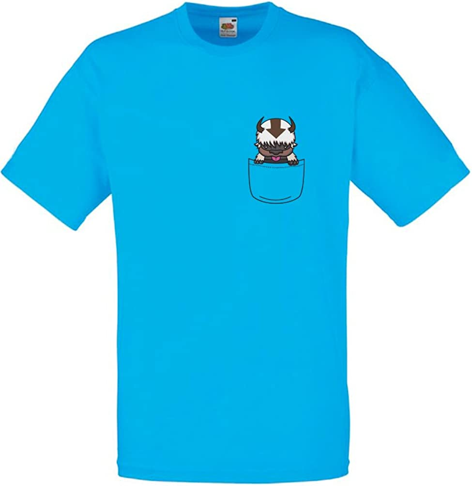 Brand88 - Appa Pocket, Mens Printed T-Shirt