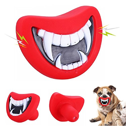 Halloween Christmas Funny Pet Dog Teeth Novelty Dogs Play Toys Puppy Chew Sound Toy