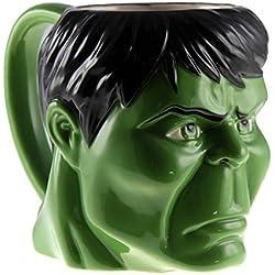 Classics Imports Marvel Molded Hulk Face Green Coffee Mug 16oz
