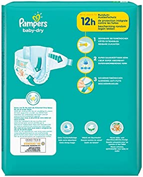 Baby-dry pa/ñales unisex Pampers 81715602