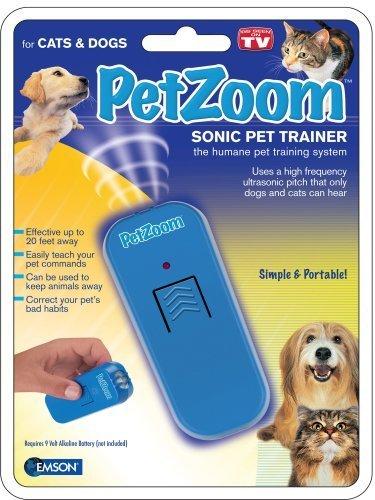 EMSON DIV. OF E. MISHON PetZoom 8140 Sonic Pet Trainer by PetZoom