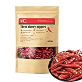 MQUPIN Hot Dried Chili Peppers Whole,Szechuan Dried Chili,Dry Chile Peppers,Dry Szechuan Pepper,Dried Red Chilies, 6oz (Medium Hot)