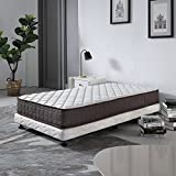 Le Confort 8 Inch Bed Mattress Soft Touching Covering Spring Mattress California Bedroom Furniture Fire Resistant Design Standard Compress Roll Packing Innerspring Hybrid Foam Mattress Full Size