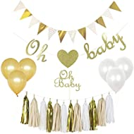 Baby Shower Decorations Gender Neutral Kit Set, Boy...
