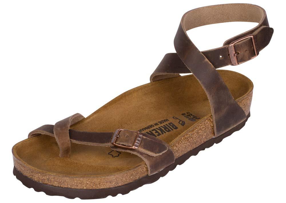 d22163a050dd3 Galleon - Birkenstock Women s Yara Sandal Tobacco Oiled Leather Size 36 M EU