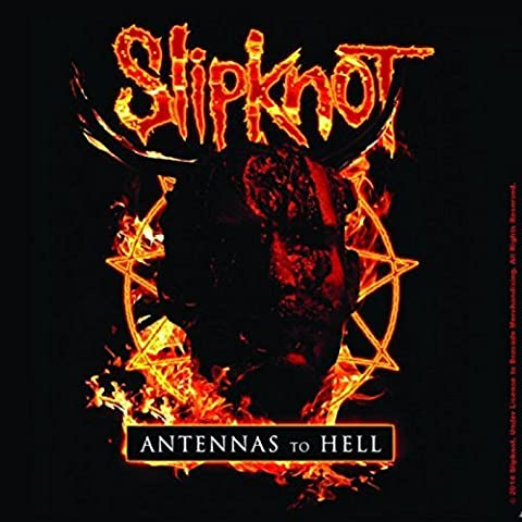 Slipknot Coaster Antennas To Hell Official 9.5Cm X 9.5Cm Cork Single Drink (Slipknot Jacket Women)