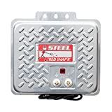 Red Snap'r EAC60M-RSS Steel 60 Mile AC Fence Charger