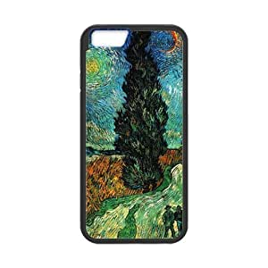 iPhone 6 Case, [Van Gogh] iPhone 6 (4.7) Case Custom Durable Case Cover for iPhone6 TPU case(Laser Technology) by ruishername