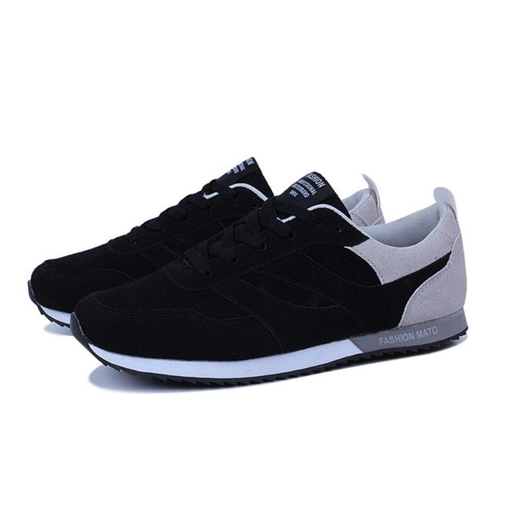 CAI Herren Turnschuhe Vier Jahreszeiten Comfort Laufschuhe Paar Outdoor Sports Reitschuhe Niedrig Top Jogging-Schuhe (Farbe : 001, Größe : 44)