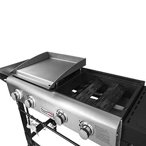 Griddle Tops For Gas Grills ~ Royal gourmet portable propane gas grill and griddle combo