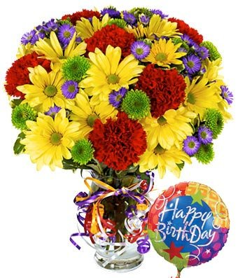Best Birthday Ever - Same Day Birthday Flowers Delivery - Online Birthday Gifts - Birthday Present Ideas - Happy Birthday Flowers - Birthday Party Ideas (Birthday Gift Delivery Ideas)
