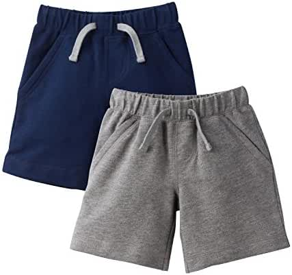 Gerber Graduates Baby Boys' 2 Pack French Terry Short