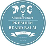 The Gentlemen's Beard Premium Bay Rum Beard Balm - 2oz