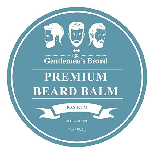 The Gentlemen's Beard – Premium Beard Balm Leave-in Conditioner & Softener – Bay Rum – 2oz