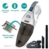 THZY Rechargeable 12V 100W Cordless Hand Vacuum Cleaner Home/Car (Small Image)