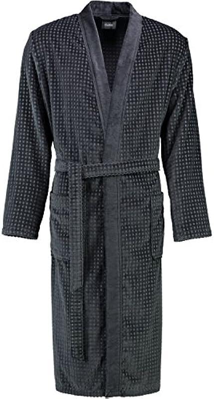 Cawö płaszcz kąpielowy męski welur 3714, medium: Küche & Haushalt