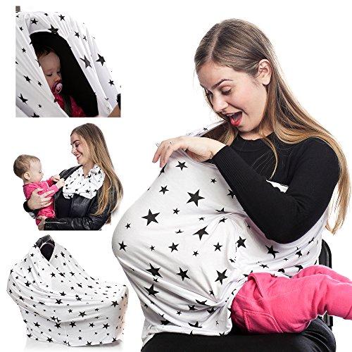 Multi Nursing Breastfeeding Stretchy Canopy product image