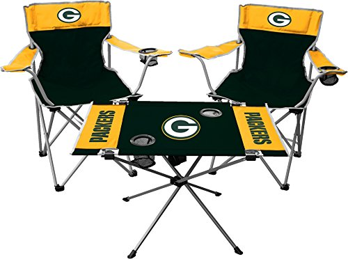 Rawlings NFL Green Bay Packers Tailgate Kit, Team Color, One -