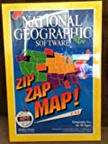 zaps software - National Geographic Software~Zip Zap Map! USA