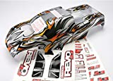 Traxxas 5312X Revo 3.3 ProGraphix Body with Decal Sheet (extended chassis)