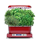 AeroGarden Harvest with Gourmet Herb Seed Pod Kit, Red