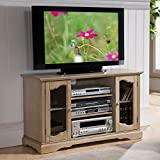 K&B Furniture 42 in. TV Stand with Adjustable Shelf For Sale