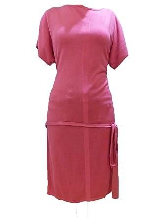 Hugo Boss Mujer Ballena lisa Business Fiesta Vestido color rosa gr xs