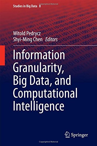 Information Granularity, Big Data, and Computational Intelligence (Studies in Big Data)