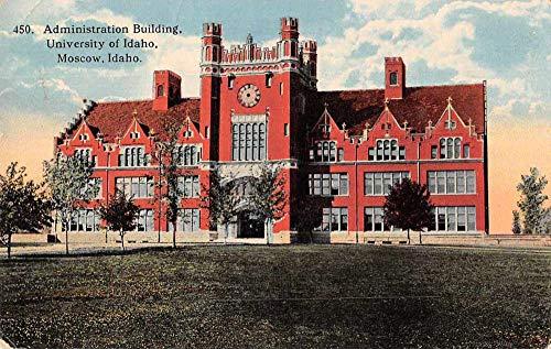 Moscow Idaho University Admin Bldg Vintage Postcard JA455972