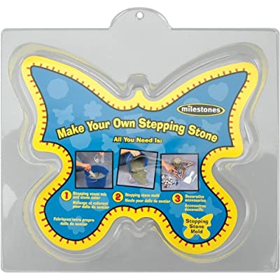 Midwest Products Large Butterfly Stepping Stone Mold, 12-Inch: Arts, Crafts & Sewing